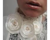 Tri romantic wedding flowers