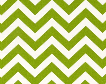 Custom Window Valance 50Wx15L Window Treatment Trendy Home Decor in Beautiful Lime Chartreuse and White Zigzag Chevron Panels Available