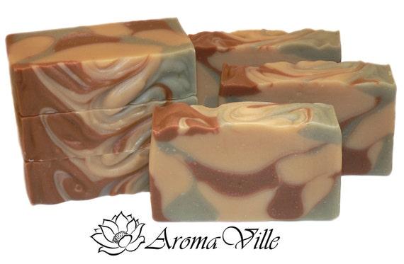 Citrus clay Handmade natural soap. Cold process