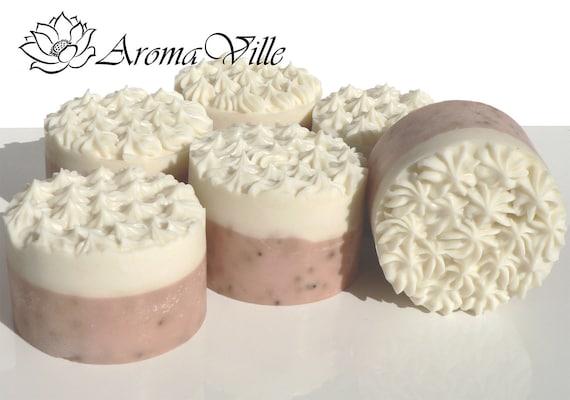 Strawberry & Cream Handmade soap Cold process