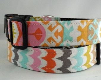 Dog Collar, Martingale Collar, Cat Collar - All Sizes - Spa Scallops
