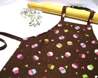 Chocolate Cupcake Child Apron
