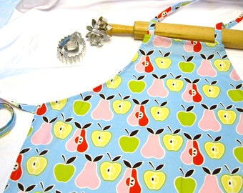 Retro Apples N Pears Adult Apron