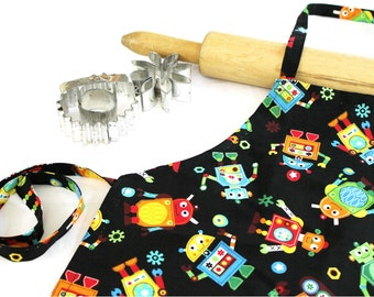 Robot Child Apron