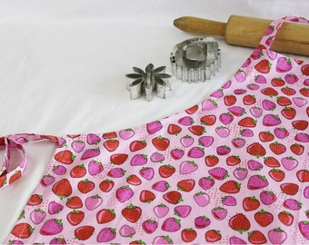 Strawberries Adult Apron