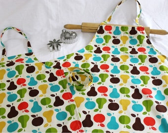 Healthy Cooking Mother Daughter Aprons