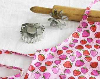 Strawberries Child Apron