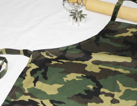 Camouflage Youth Apron
