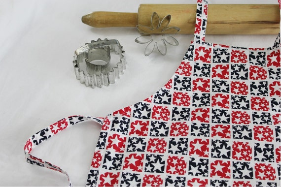Patriotic Stars Child Apron