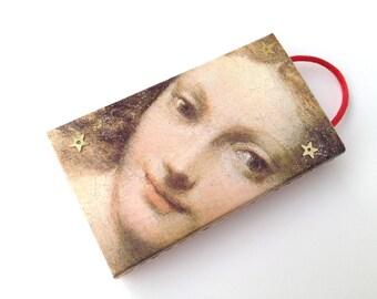 Venus - lavender pomander - drawer sachet - closet sachet - altered matchbox