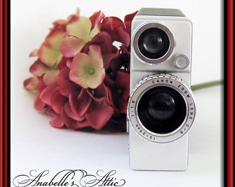 1960s Bell & Howell Canon Cine Canonet 8 / 8mm Movie Camera
