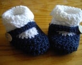 2 in 1 Blue and White 0-3 month Baby Booty