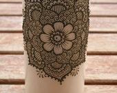 Henna Mandala Candle