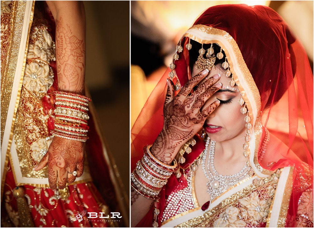 Indian Wedding Henna Tattoos: Chandeliers & Pendant Lights
