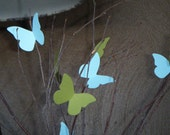 Paper Butterflies-die cut-25 Small-any color