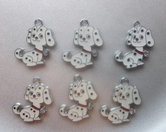 Dalmation Dog Charm 26x17mm 1 Charm