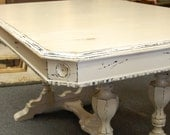 7 Treasury's and Counting.. Country French, Farmhouse, Shabby Chic, Cream Dining Table