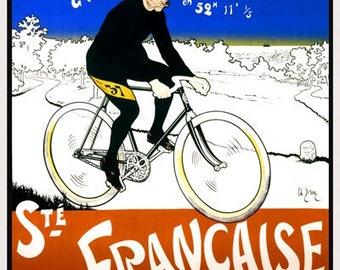 Paris-Brest-Paris Bicycle Poster  (#1295) 6 sizes