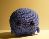 Jeremy the Rollie Monster Amigurumi