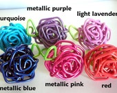 Paperclip Rose Ring - Pick A Color