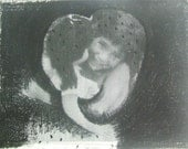 Original Photo Etching -The Doll and I