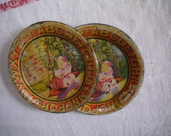 Made in Ohio Little Tin Plates