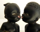 ON SALE ceramic lovebirds