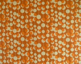 Amy Butler Fabric, Midwest Modern Martini, Rust, AB26, Orange, Dots, Rust, Modern