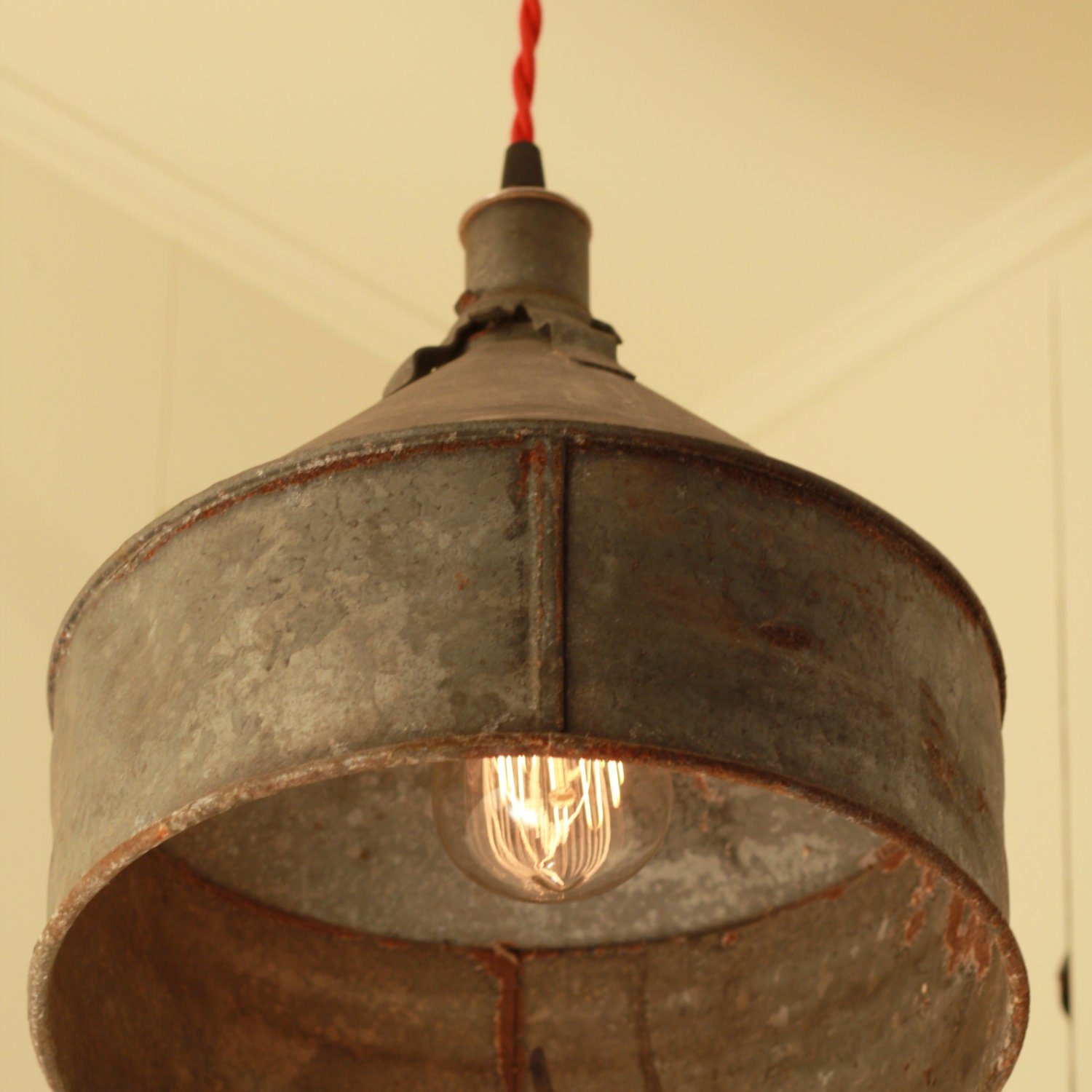 RESERVED For Jacquidowd Rustic Lighting With By