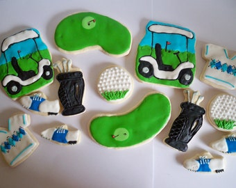 Golf Sugar Cookies