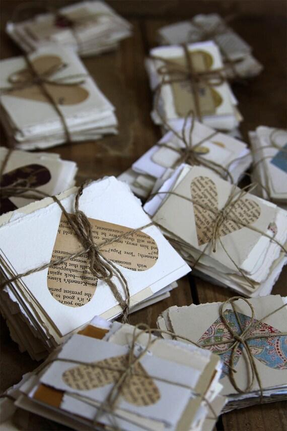 alternative guest book-  50 wish jar cards