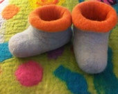 Felted Baby's and Toddler's Booties