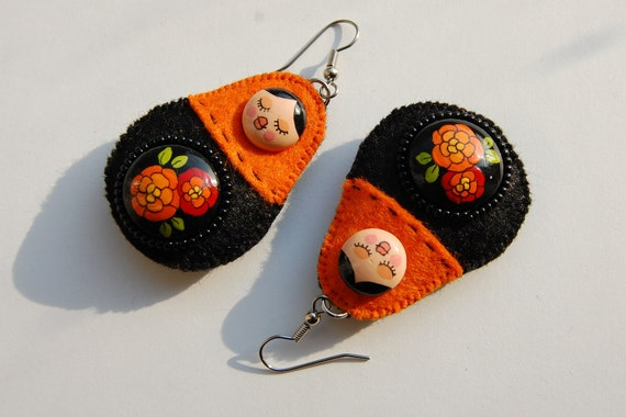 Matryoshkas earrings
