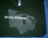 Mostly Midwest T-Shirt - SIZE MEDIUM