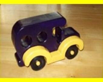 Wooden Car #1