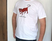 Mens WaltersDogs T-Shirt in White- Size M