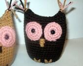 Mini Owl Crochet Buddy Crochet PATTERN