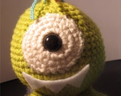 One Eyed Crochet Monster PATTERN