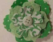 St. Patricks Flower Pin