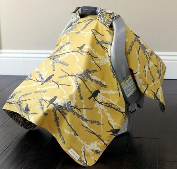 Car Seat Cover, Antique Tweet designer material