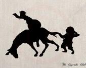Clip Art Designs Transfer Digital File Vintage Download DIY Scrapbook Shabby Chic Don Quijote Quixote de La Mancha Spain Cervantes No. 0208