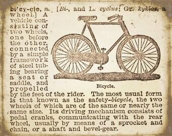 Bicycle11x14 fine art photograpy print