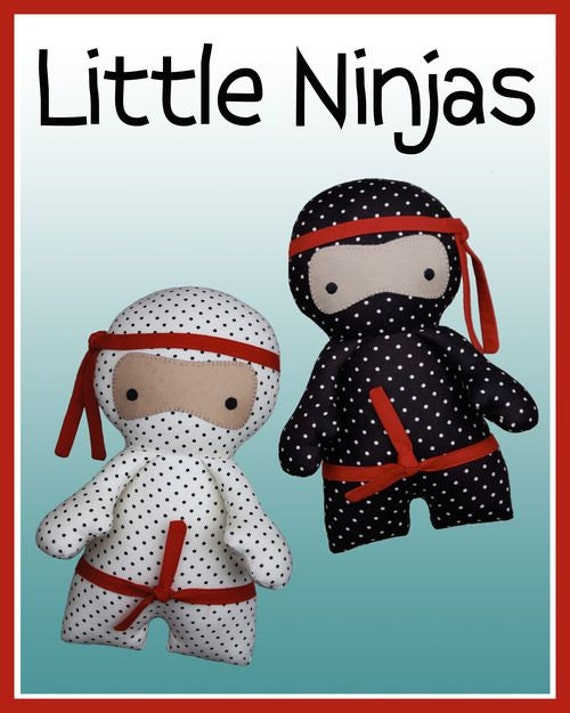Melly and Me LITTLE NINJAS Sewing Pattern Australia ABSD