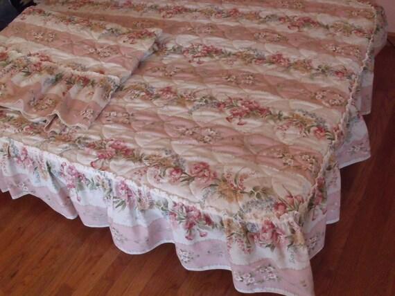 SALE 2 Vintage twin bedspreads .