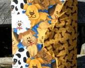 "Handmade ""Dog Lover"" Nook Cover"