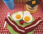 Felt Food Breakfast:  Deluxe Set