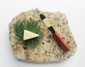 RESERVED - Leopard Granite Cheese Board