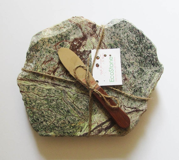 RESERVED - Unique Forest Green Cheese Board