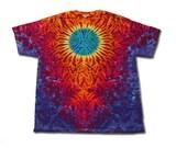 Earth Tie Dye T Shirt adult