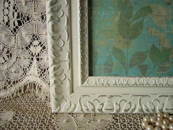 RESERVED MARIAH French Shabby Baroque Ornate Frame 8 x 10